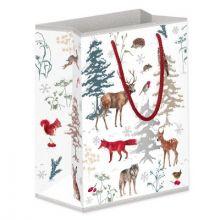 Grätz Verlag Geschenktüte Weihnachtswald