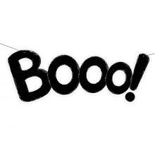 """Halloween-Girlande """"Booo!"""""""