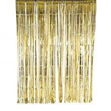 Gold-Glitter-Vorhang, Talking Tables