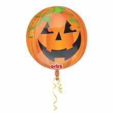 Folienballon Happy Halloween rund