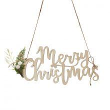 Schilder Merry Christmas