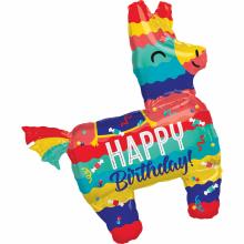 Folienballon Pinata Happy Birthday