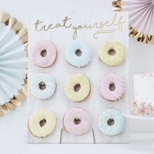 "Donut-Board ""Treat yourself"""
