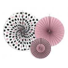 "Rosetten_Pinwheels rosa Mustermix ""Sweets"""