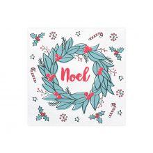 Weihnachts-Serviette Noel