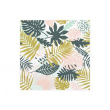 Serviette Tropical Party