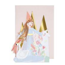 Meri Meri Karte Prinzessin Princess Concertina