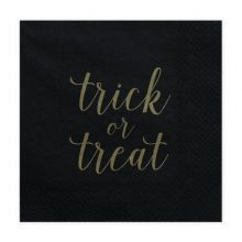 "Serviette ""Trick or Treat"""