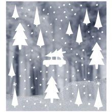 Fensterbild DELIGHT Department Weihnachts-Landschaft