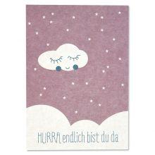 Postkarte Hurra