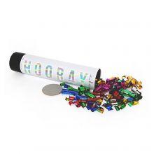 Konfetti Kanone Glitter Bunt 20 cm
