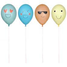 Emoji Luftballons