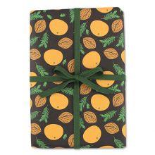 Geschenkpapier Mandarinen