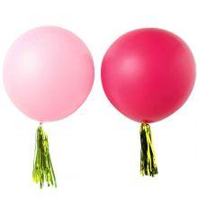 Maxi-Ballon, rosa/pink