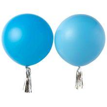 Maxi-Ballon, blau/hellblau