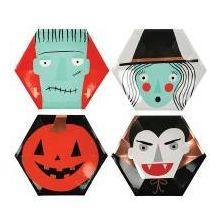 Pappteller Halloween