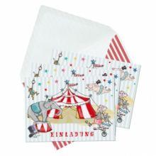 "Einladungskarten ""Zirkus"""
