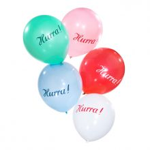 Luftballon Hurra