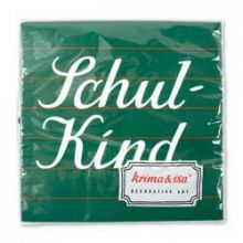 "Serviette ""Schulkind"""