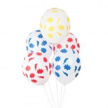 Luftballons bedruckt - Superheld