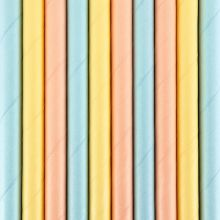 Papier-Strohhalme Summertime