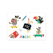 "Tattoos ""Schule ABC"""